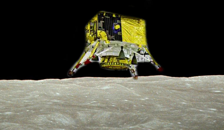 ISRO endeavoring to restore link with Chandrayaan-2 lander