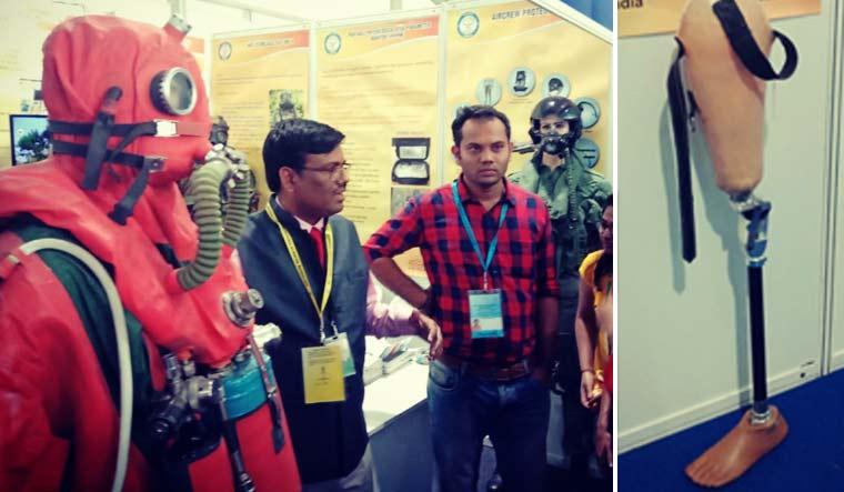 DRDO-SBMT-diving-suit-prosthetic-leg-Prathima