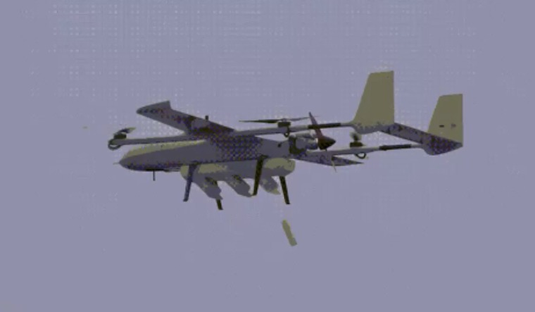 swarm drone mother ship china
