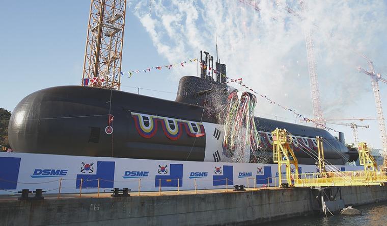 DSME rep submarine