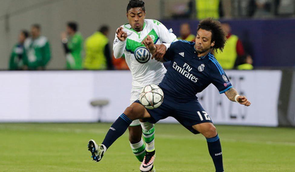 Wolfsburg upset Real Madrid 2-0
