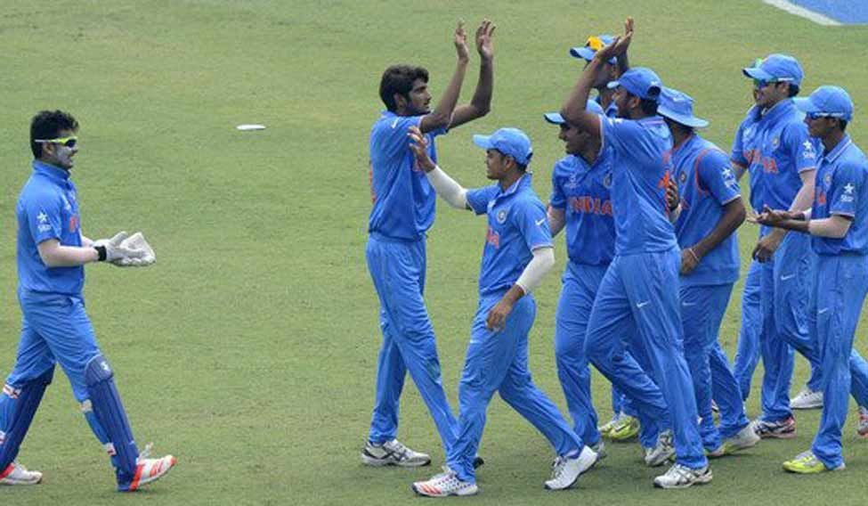 India colts steamroll Sri Lanka to enter fifth World Cup final