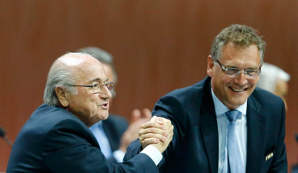 SOCCER FIFA/VALCKE