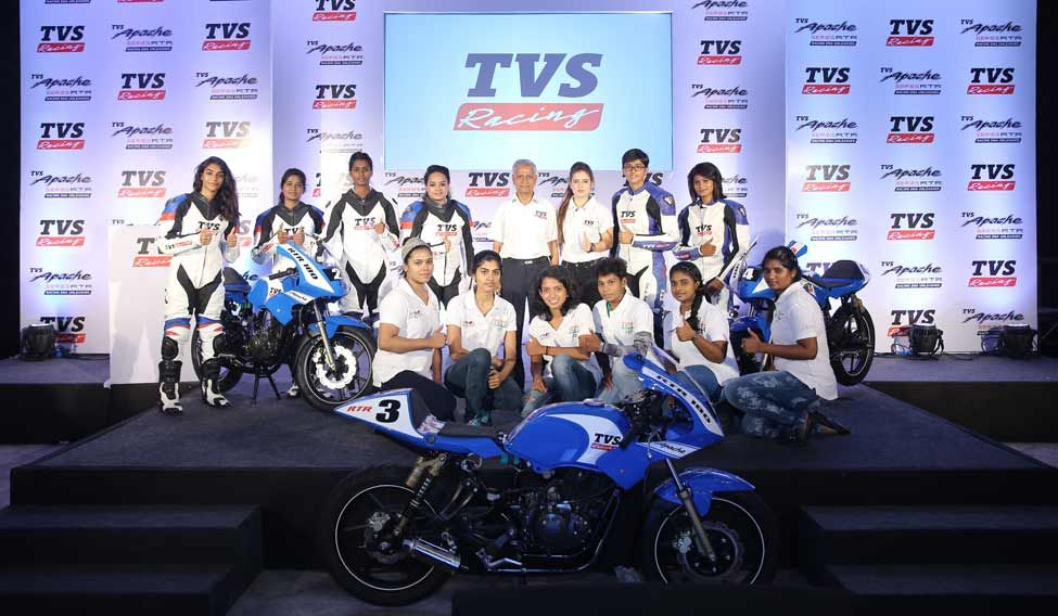 TVS Racing ties up with Alisha Academy for Women