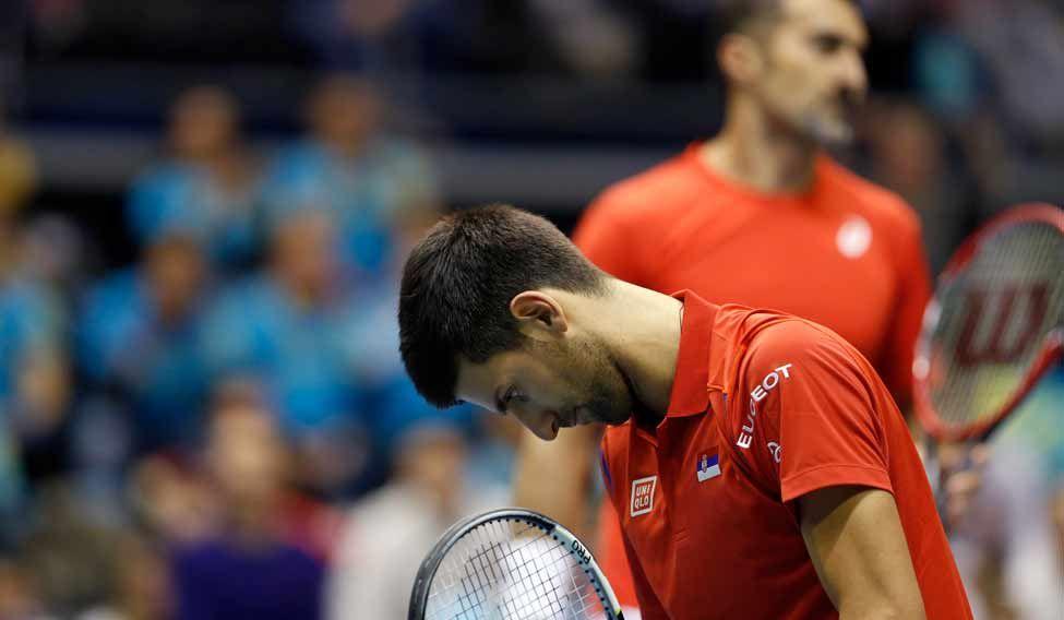 Serbia Kazakhstan Davis Cup Tennis