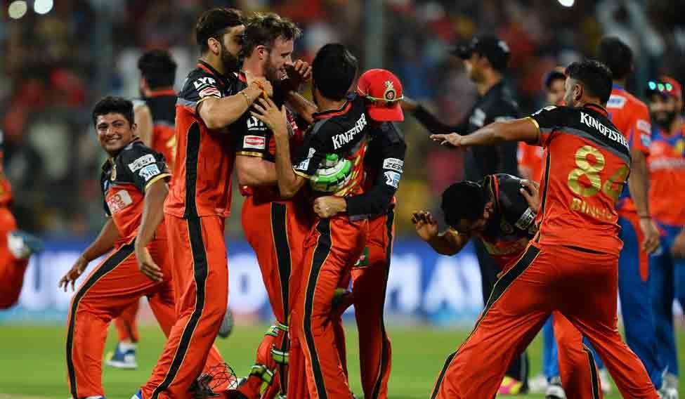 CRICKET-T20-IPL-IND-BANGALORE-GUJARAT