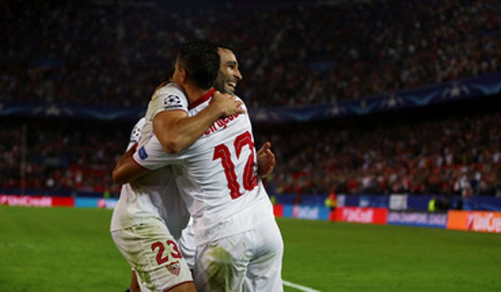 Sevilla win but Madrid drop points in Champions League