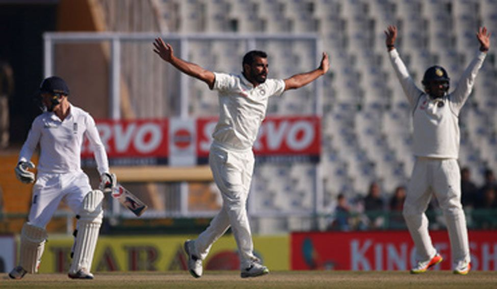 Shami cleans up tailenders as England post 283