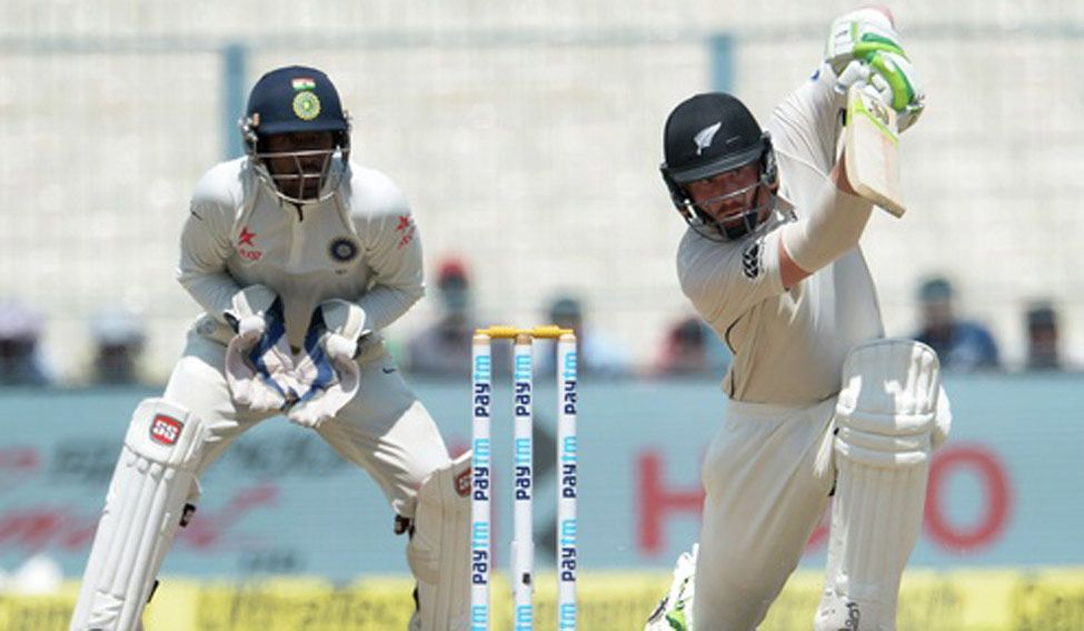 Second Test: New Zealand 55/0 at lunch on Day 4