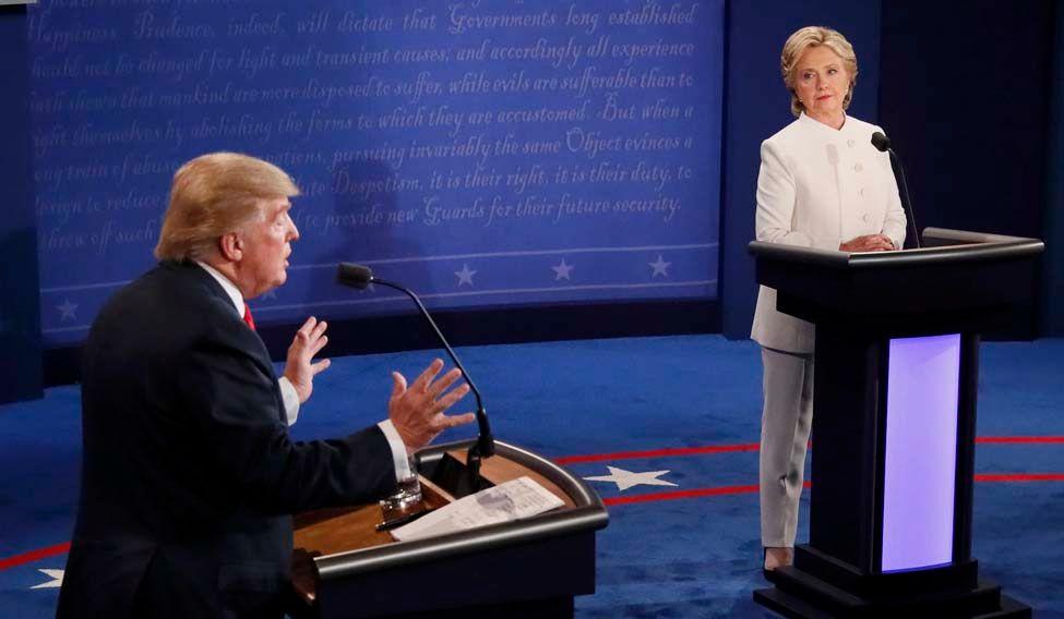 Clinton, Trump face-off in final presidential debate
