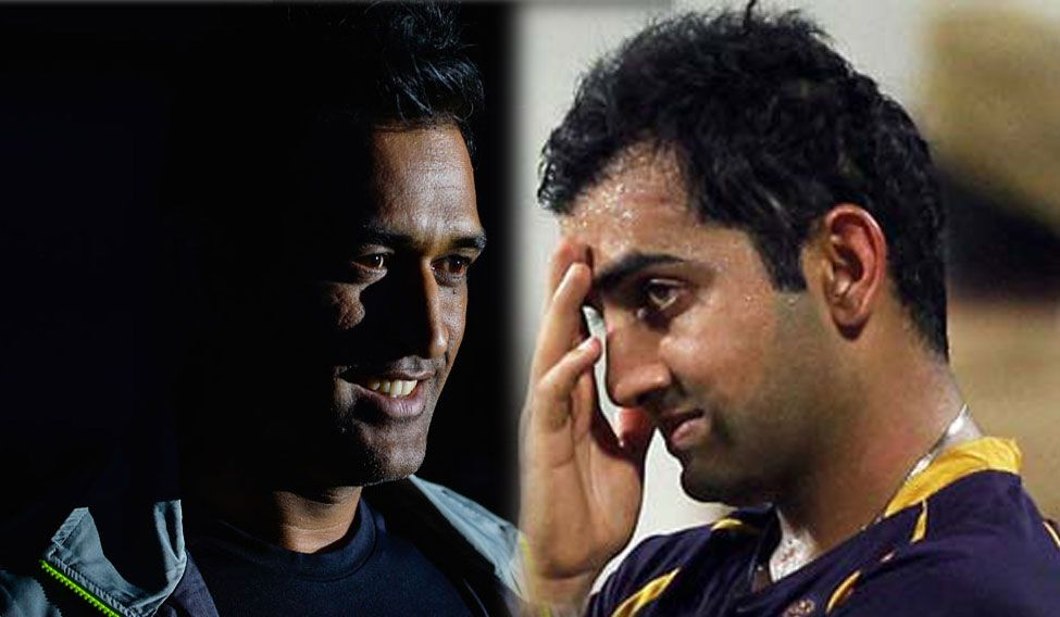 Gambhir's comment could be viewed as an indirect dig at Dhoni, with whom he is known to have a chequered relationship in the past
