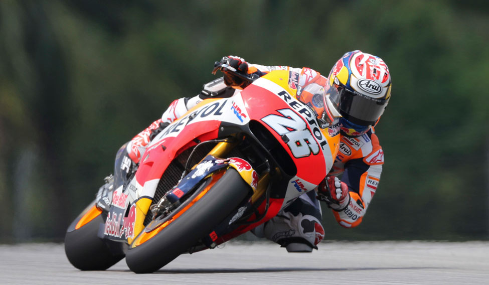 Malaysian GP : Pedrosa takes pole, Marquez seventh