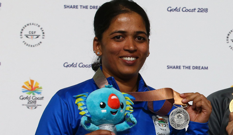 CWG: Shooter Tejaswini Sawant takes silver in women's 50m Rifle Prone