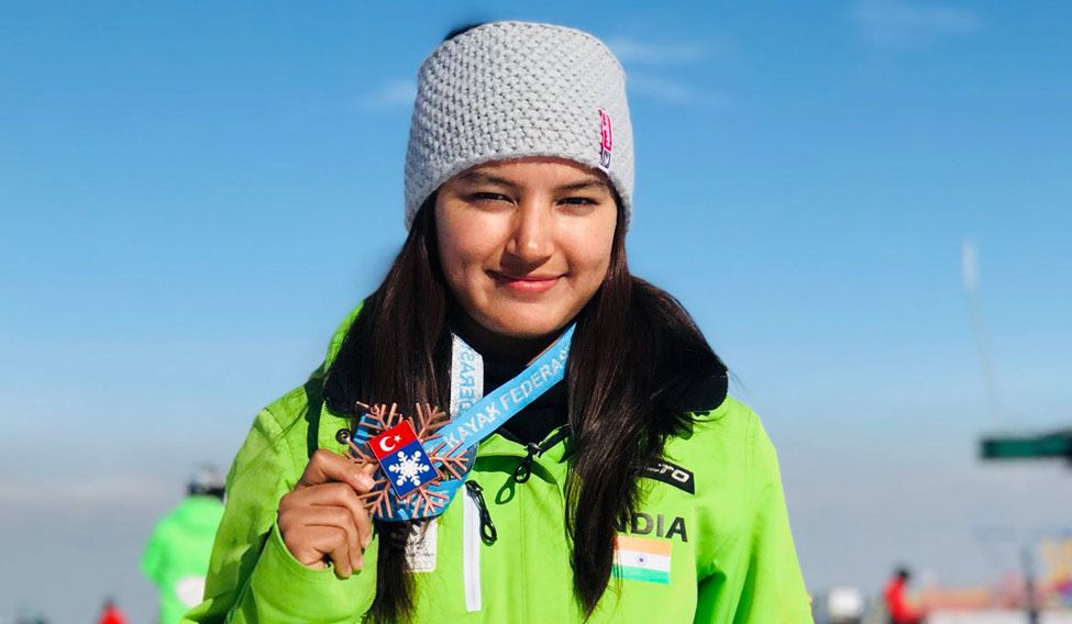 Aanchal Thakur wins India's first worldwide  medal in skiing