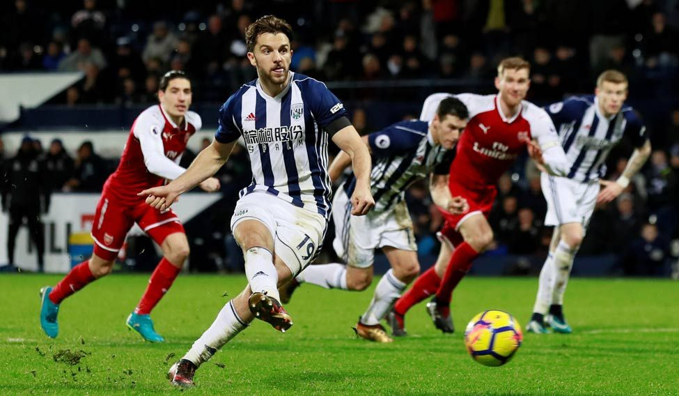 West Brom´s Chadli out for two months