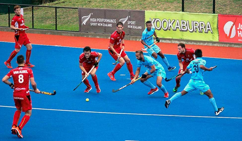 India lose to Belgium in Four Nations hockey