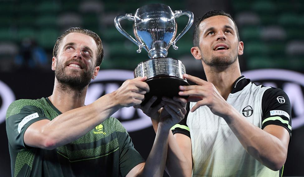 Marach and Pavic win Aussie men's doubles title