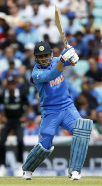 Team India will rely on M.S. Dhoni's performance and skills | AFP