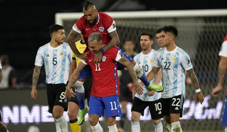 Messi's Argentina draws 1-1 with Chile at Copa America