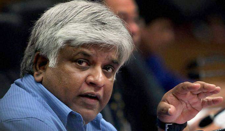 SLC official arrested; Ranatunga wants Indian help to tackle corruption