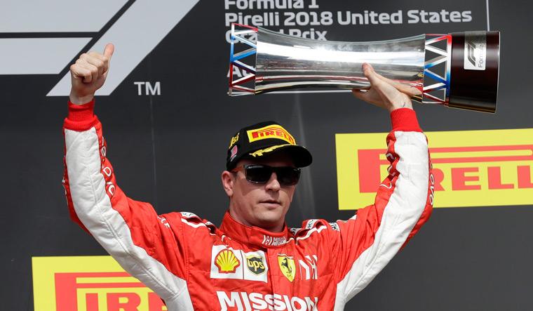 US Grand Prix: Raikkonen makes Hamilton wait for F1 title