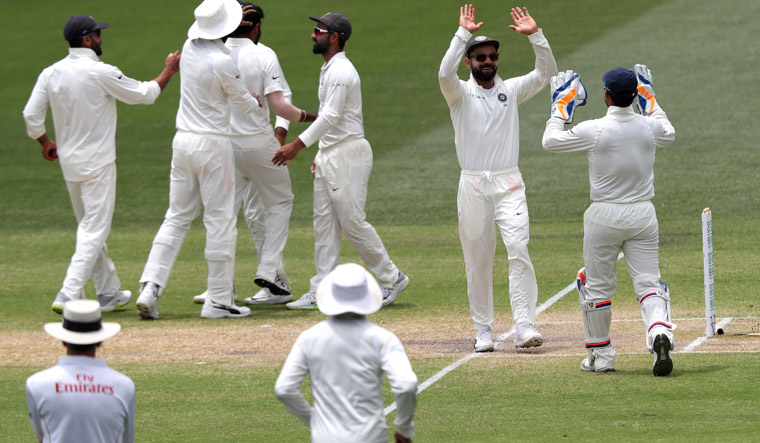 Adelaide Test: India close in on win as Australia lose 7th wicket