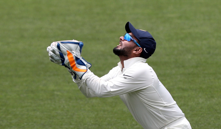 Rishabh Pant equals world record of most catches in Test cricket