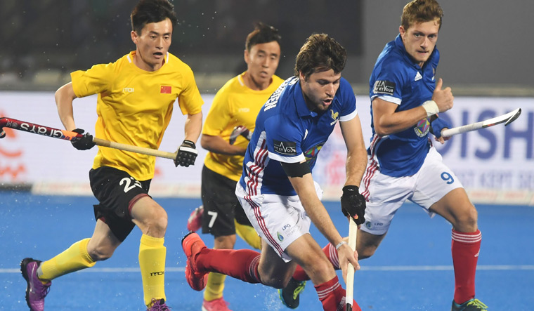 Hockey World Cup: France struggle past China 1-0 to enter quarterfinals