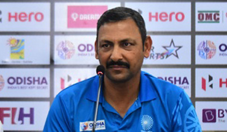 Image result for Harendra Singh removed as head coach of Indian men's hockey team