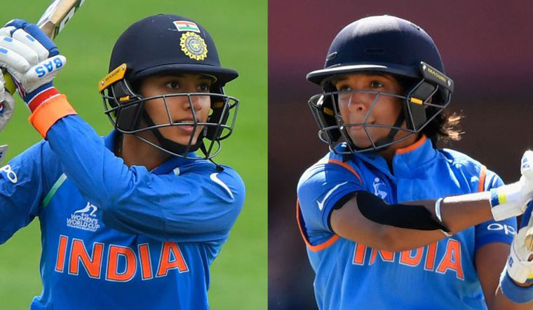 Image result for Harmanpreet Kaur and Smriti Mandhana