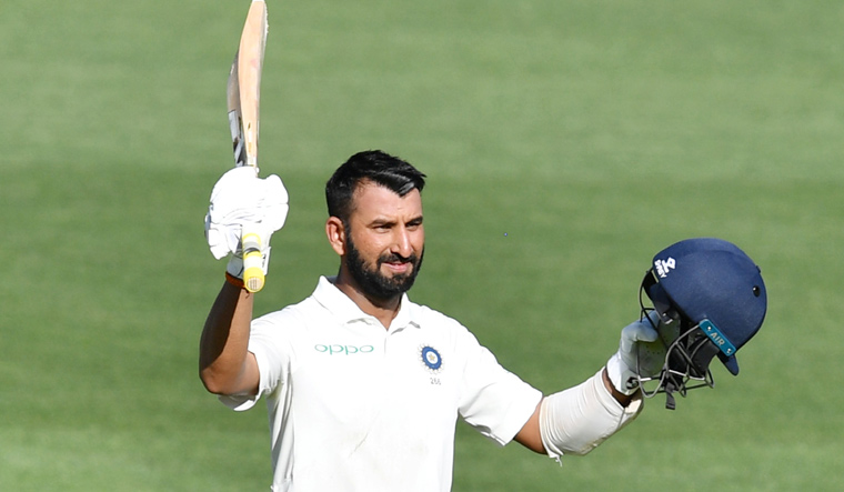 IND vs AUS First Test: Pujara's century bails India out of trouble