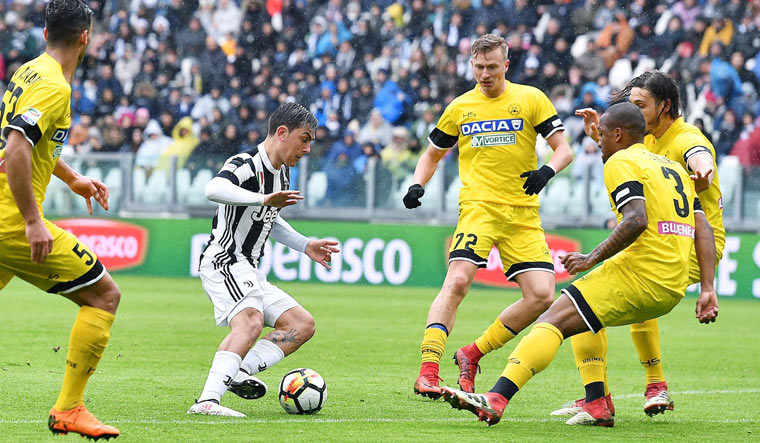 Juventus return to Serie A summit after Udinese win
