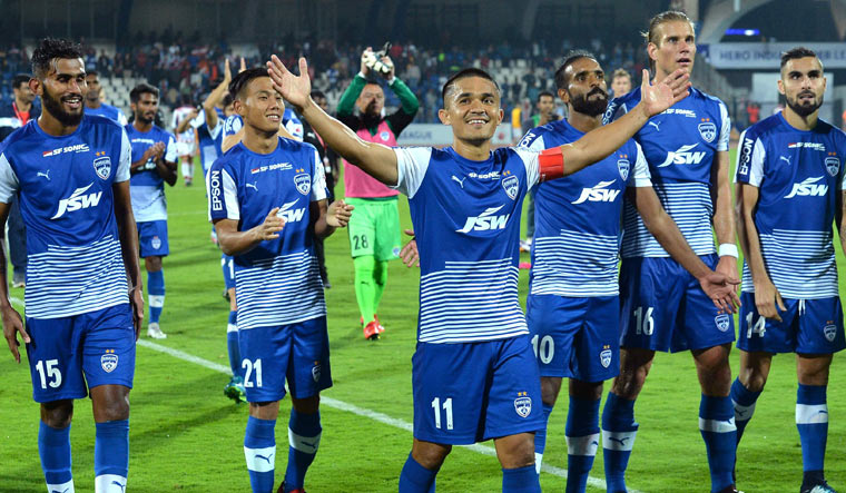 Chennaiyin edge out Bengaluru to lift ISL trophy