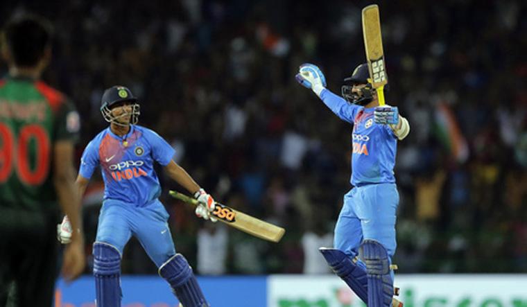 Karthik stars as India beat Bangladesh in Nidahas Trophy final