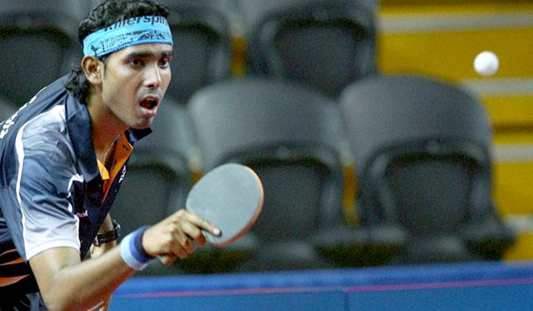 Twelve years later, Sharath seeks another double gold