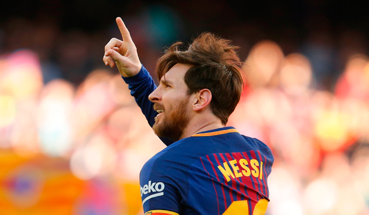 Messi scores as Barca sail past Athletic