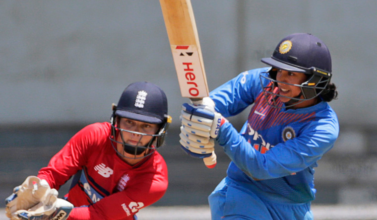India tasted their first victory over England, Mandhana hits another knock