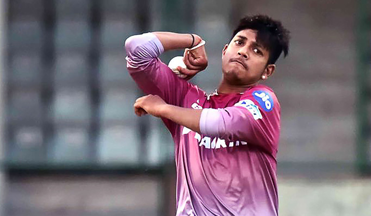 Rising Nepal cricket star Sandeep Lamichhane trains ahead of IPL 2018