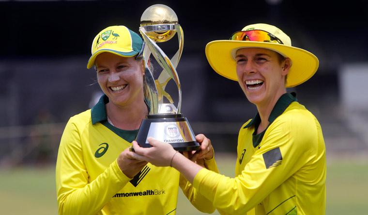 Women T20I Tri-series: Australia women's beat England in the final