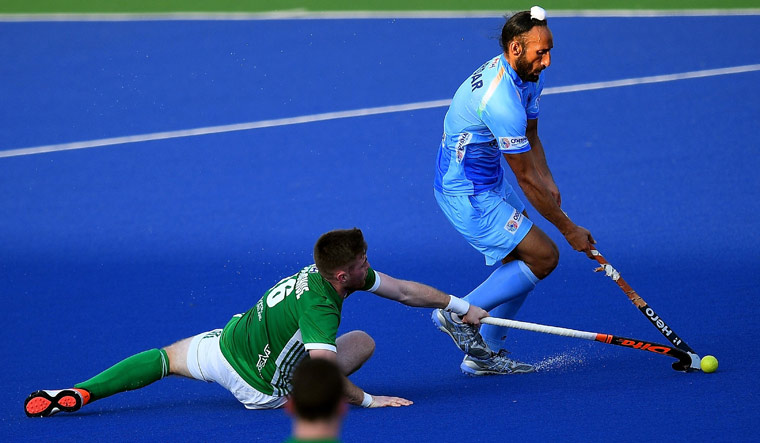 Ireland shocker for India