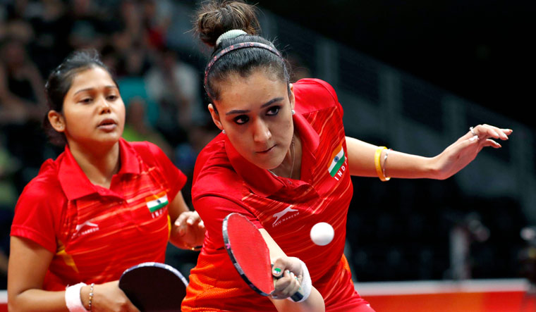 Commonwealth Games 2018: Manika storms into table tennis women's singles final