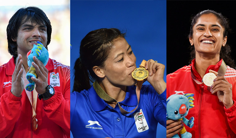 Mary Kom leads India's gold charge