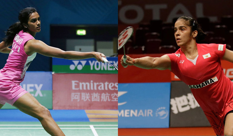 Saina sets date with Sindhu in singles final
