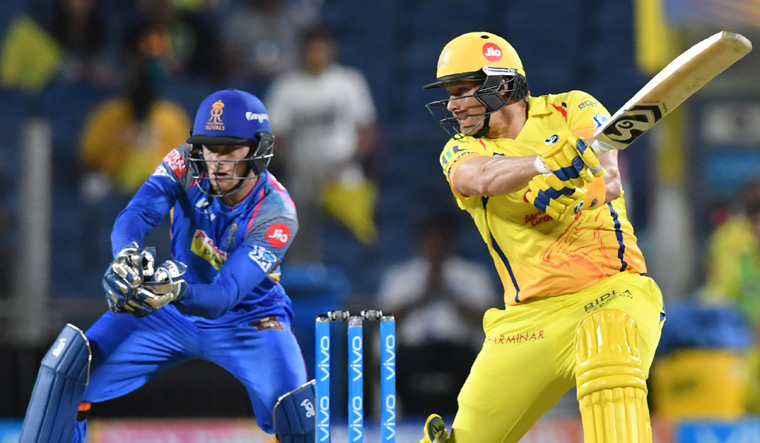 IPL 2018: Watson strikes ton in CSK's big win at new home