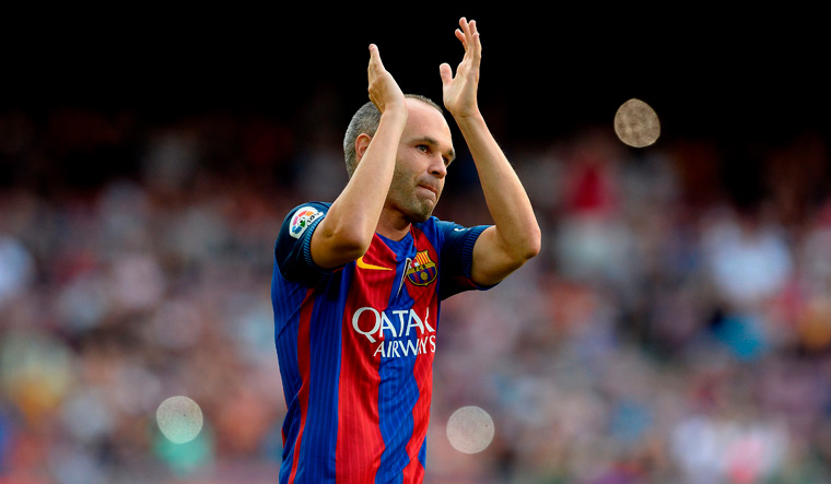 Andres Iniesta: Barcelona has given everything to me