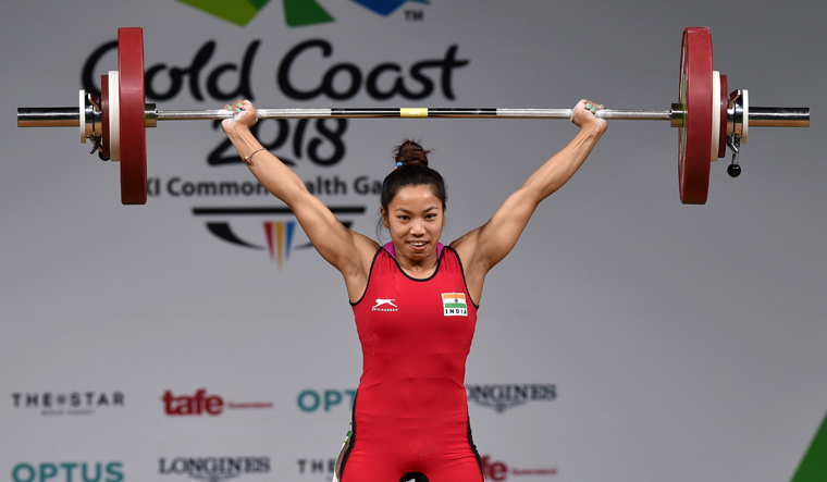 Mirabai Chanu claims India's first gold
