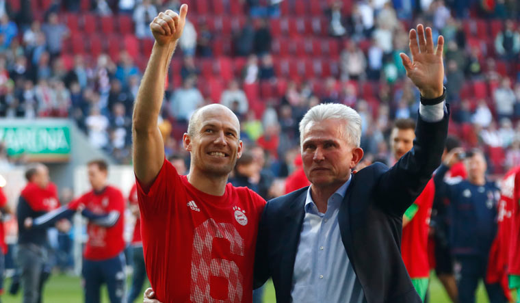 Bayern Munich win Bundesliga title for sixth consecutive season
