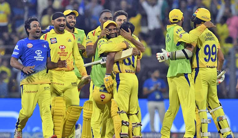 Chennai home matches to be moved due to security concerns