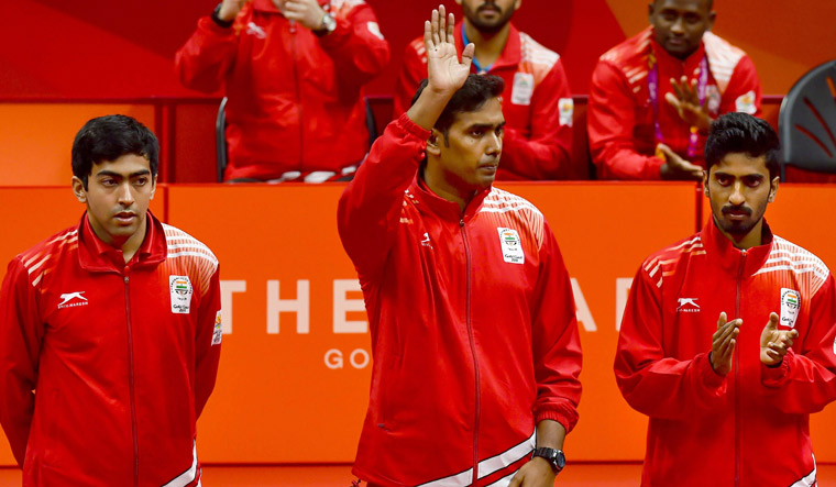 CWG 2018: India wins gold in men's table tennis after 12 years