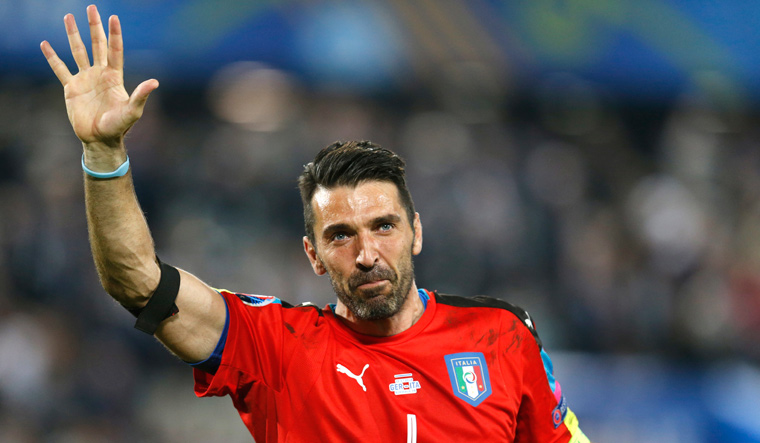 Buffon will make his final appearance for Juventus on Saturday against Hellas Verona